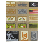75 th RANGER Patches