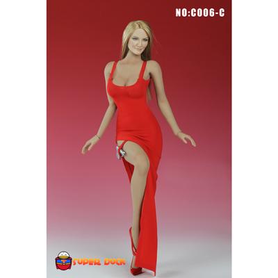 set tenue de soir e sexy femme rouge machinegun. Black Bedroom Furniture Sets. Home Design Ideas