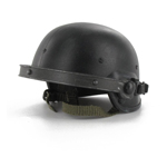 Black PASGT helmet