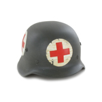 M42 Helmet with Red Cross