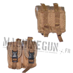 Tan double M4 AKM ammo pouch