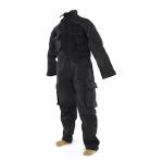 Combat black coverall