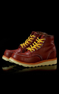 Bottes fashion Moc Toe (Marron)