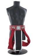 Asian Belt (Red)