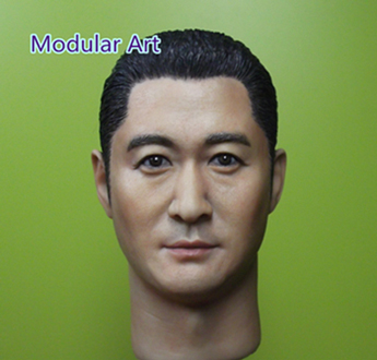 Headsculpt Chinese Kung Fu Boy