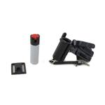 Bombe lacrymogène avec housse Peter Jones P175 MK4 (Noir)