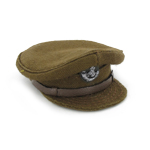 Casquette officier King's Shropshire Light infantry