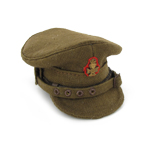 Casquette d'officiers Trench hat The King's royal rifle corps
