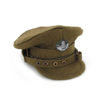 Casquette d'officiers Trench hat Durham light infantry
