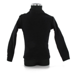 Black long sleeves round neck T Shirt