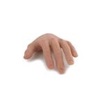 Main gauche flexible homme européen