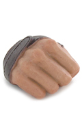 Caucasian Male Right Hand with Strap