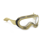 Universal goggle with retention straps