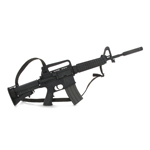 M4 CAR15 assault rifle
