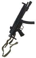 MP5A5 Submachinegun (Black)