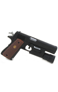M1911A1 Colt 45 with Surfire (Black)