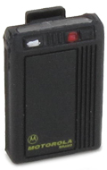 Bravo Plus Numeric Pager (Black)