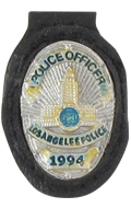 LAPD Police Officer Badge (Silver)