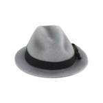 Chapeau en velours (Gris)