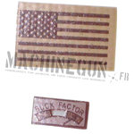 U.S. Flag and Moral Patch