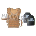 Hard plate body armor