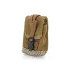 Multipurpose light brown pouch