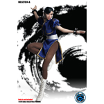 Set Female Asian Warrior (Blue Version)