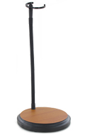 Magnetic Basketball Ball Court Display Stand (Brown)