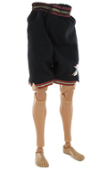 Short de basketball Sixers (Noir)