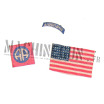 82nd Airborne Division insignia set