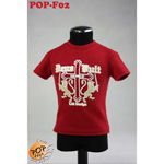 T-shirt tendance Type B Homme (Rouge)
