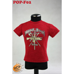 T-shirt tendance Type C Homme (Rouge)