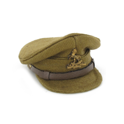 Casquette officier Britannique régiment Royal West Kent