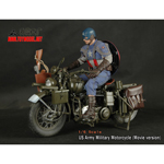 Moto Harley-Davidson US Army WWII Die Cast (Movie Version)