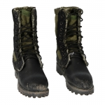 Worn 3rd Pattern DMS Spike Sole Spike Protective Jungle Boots (Olive Drab)