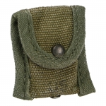 Worn M56 Compass Pouch (Olive Drab)