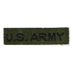 US Army Name Tab (Olive Drab)