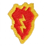 Patch 25th Infantry Division (Rouge)
