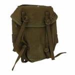 Worn M61 Combat Field Pack Buttpack (Olive Drab)