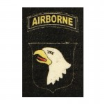 Patch Screaming Eagle 101st Airborne (Blanc)