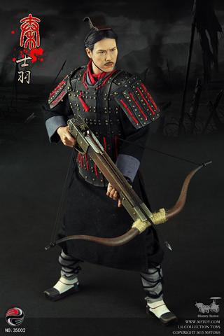China Qin Dynasty Soldiers - Qin Soldiers Feather