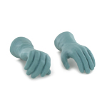 Gloved Hands (Green)