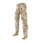 Camo desert BDU eight pocket trousers