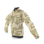 Veste BDU camouflage trois couleurs trois poches