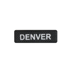 Denver Name Patch (Black)