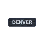Denver Name Patch (Blue)