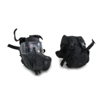 FM53 Gas Mask with Pouch (Black)