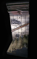 The Tunnel Ladder Ruins Diorama