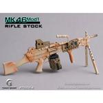 Mitrailleuse MK46 MOD1 crosse pleine (Désert)