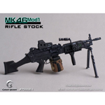 MK46MOD1-rifle stock (black)